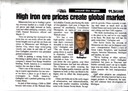 High Iron Ore Prices Create Global Market 04/11 (Business North)
